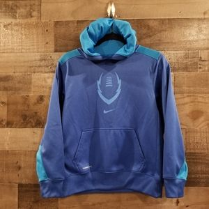 Youth Nike Therma-fit, fleece lined hoodie, YL